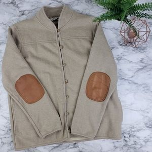 Orvis I Tan Jacket with Elbow Patches